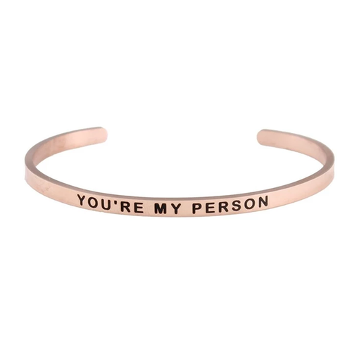 Blush You're My Person Bangle