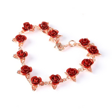 Load image into Gallery viewer, Blush Dozen Roses Bracelet