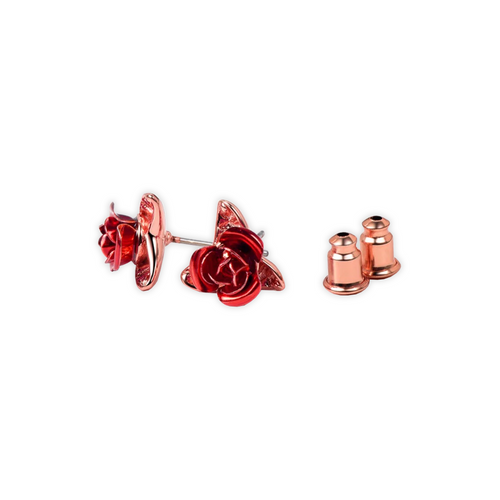 Blush Stud Rose Earrings