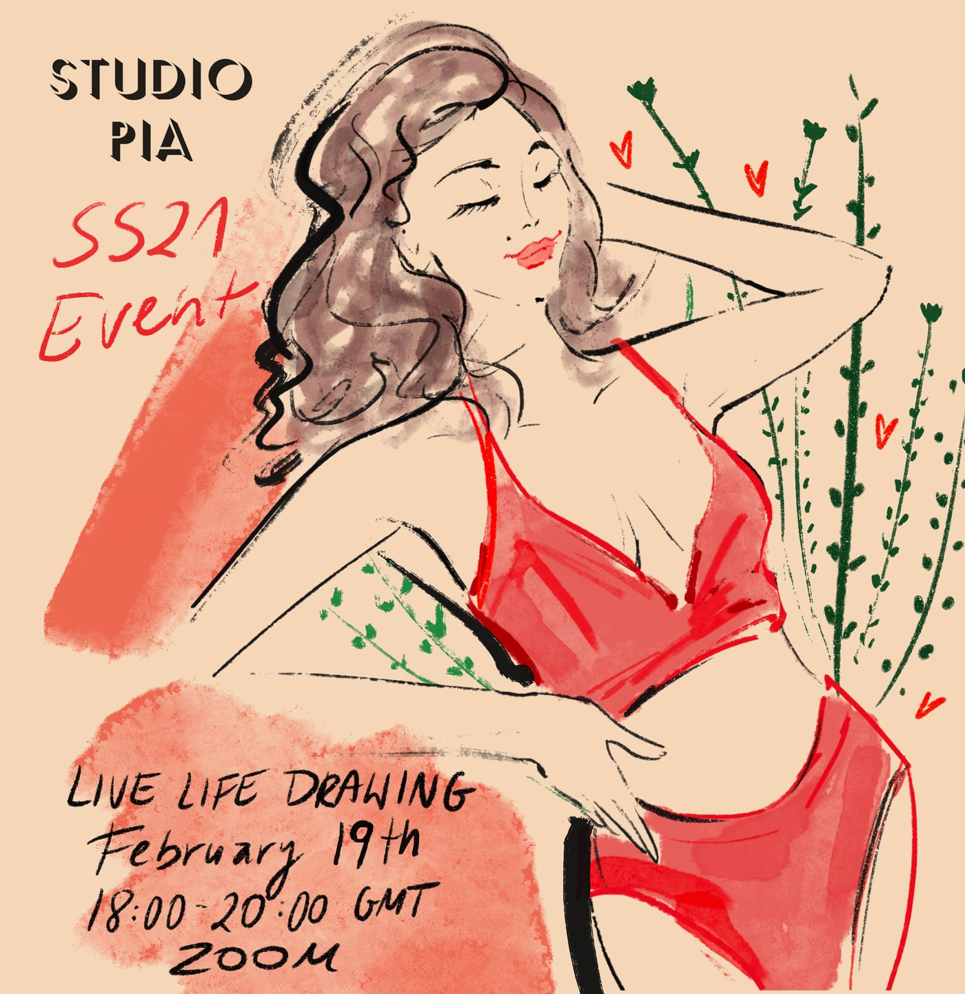 SS21 Online Life Drawing Event