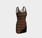 Chocolate Bar Bodycon Dress