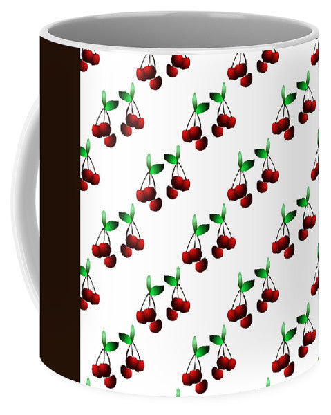 Cherries Pattern - Mug