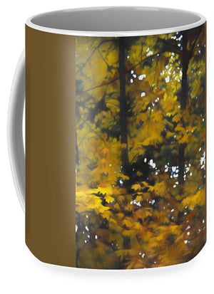 Fall Yellow Trees - Mug - expressive-flower-art-goods.myshopify.com