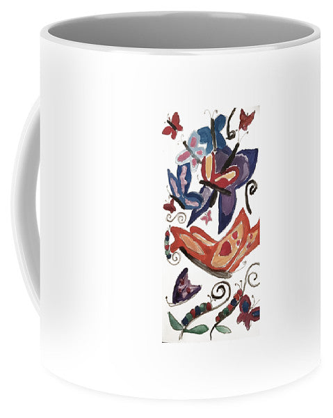 Watercolor Butterflies - Mug