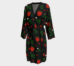 Wild Strawberries Robe