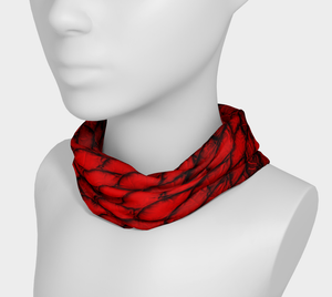 Red Dragon Scales Headband