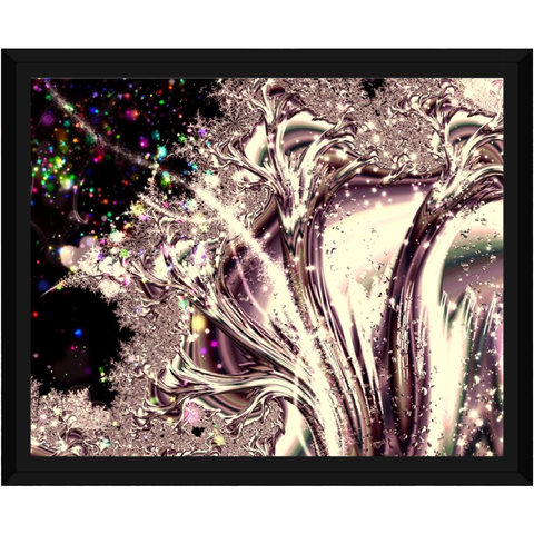 Sometimes I Can See Your Soul Framed Canvas