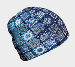 Blue Ice Crystals Hat