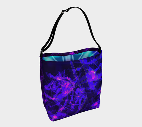 Bokeh Light Dragonfly Day Tote