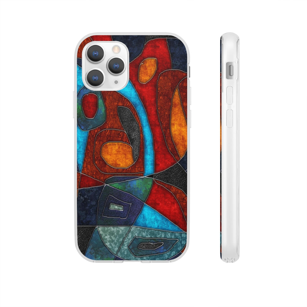 Abstract With Heart Flexi Cases