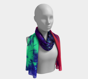 Merging Swirl Long Scarf