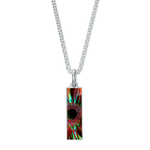 Flowers 133a Long Necklace