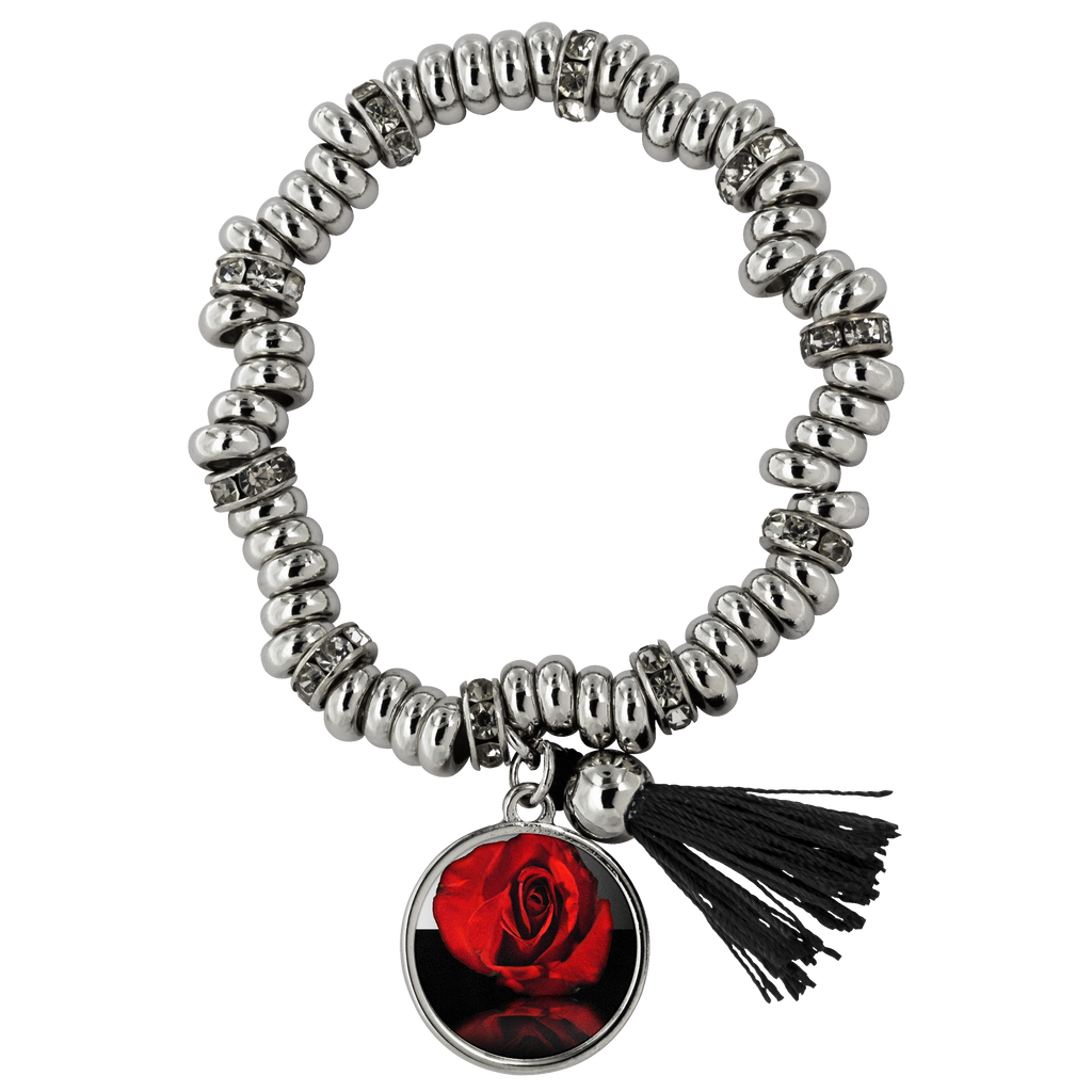 Red Rose Reflection Piper Bracelet