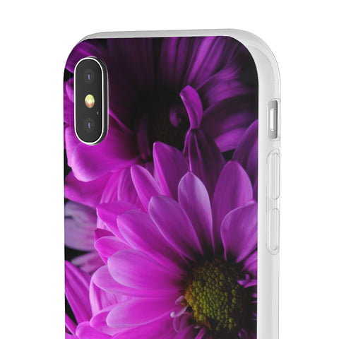 Purple Daisies Flexi Cases