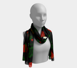 Wild Strawberries Long Scarf