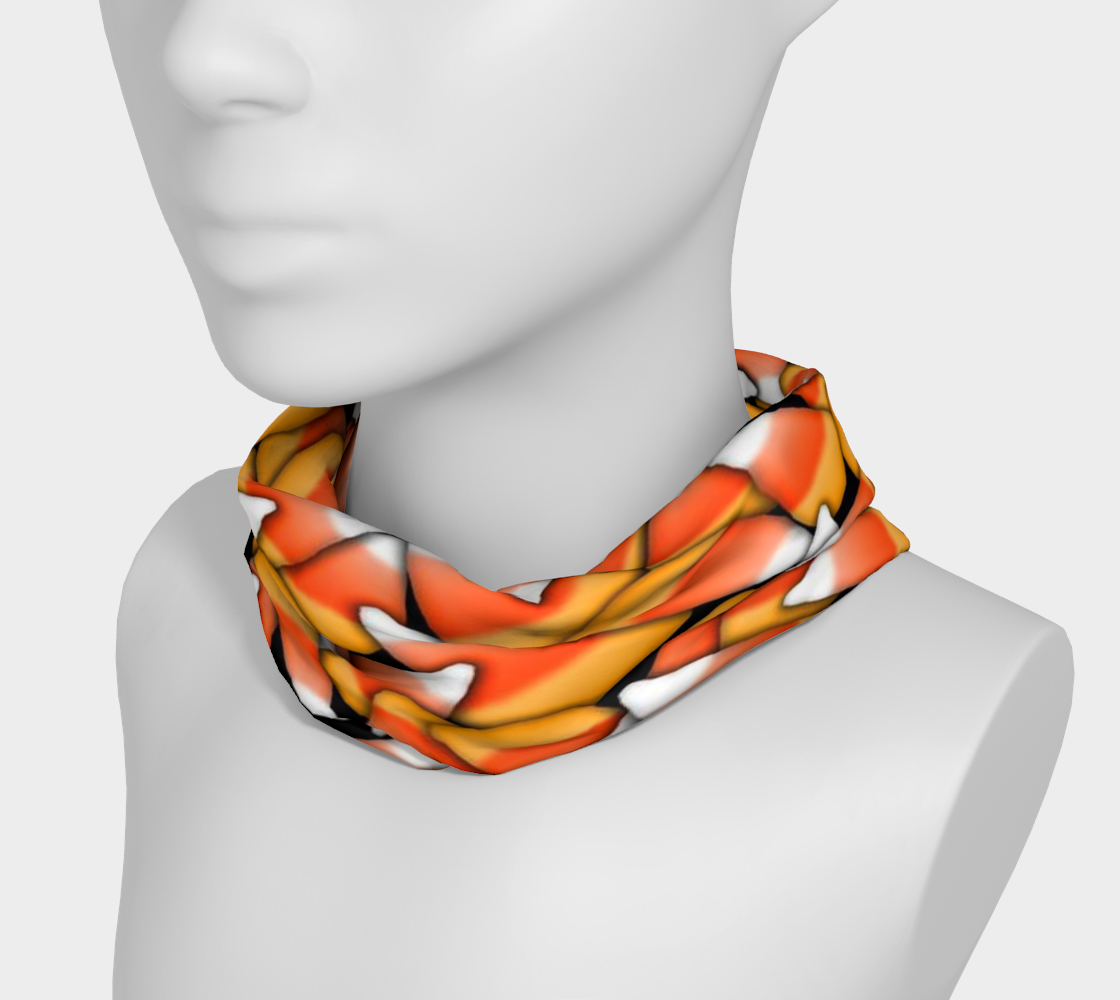 Candy Corn Pattern Head Band