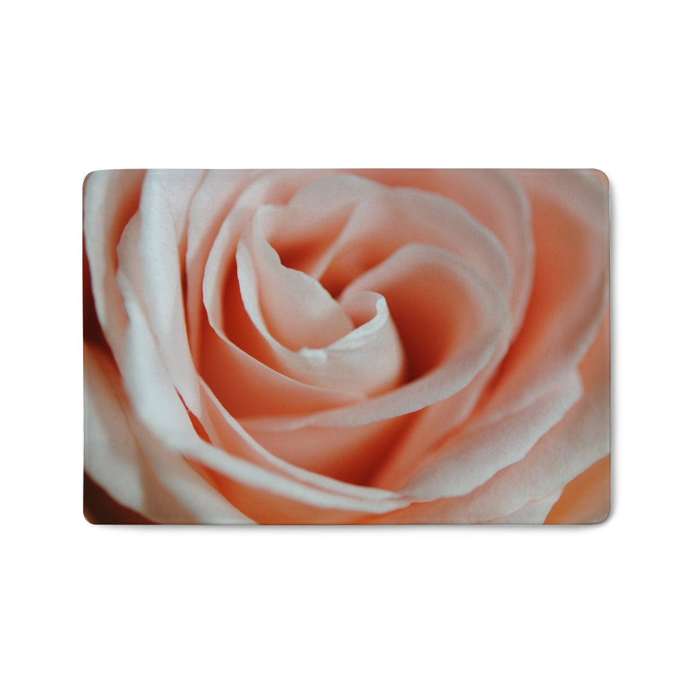 Pink Rose Close Up Doormat
