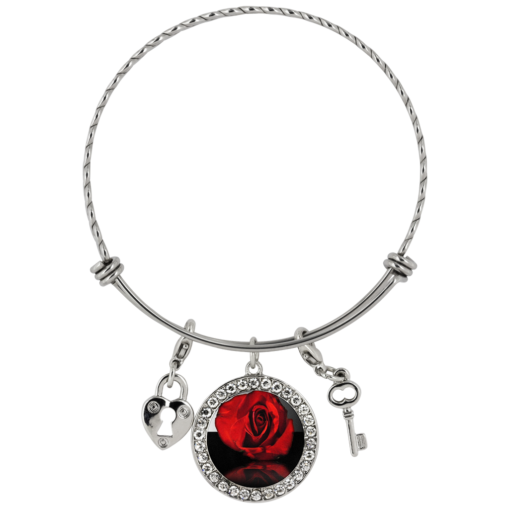 Red Rose Reflection Chloe Bracelet