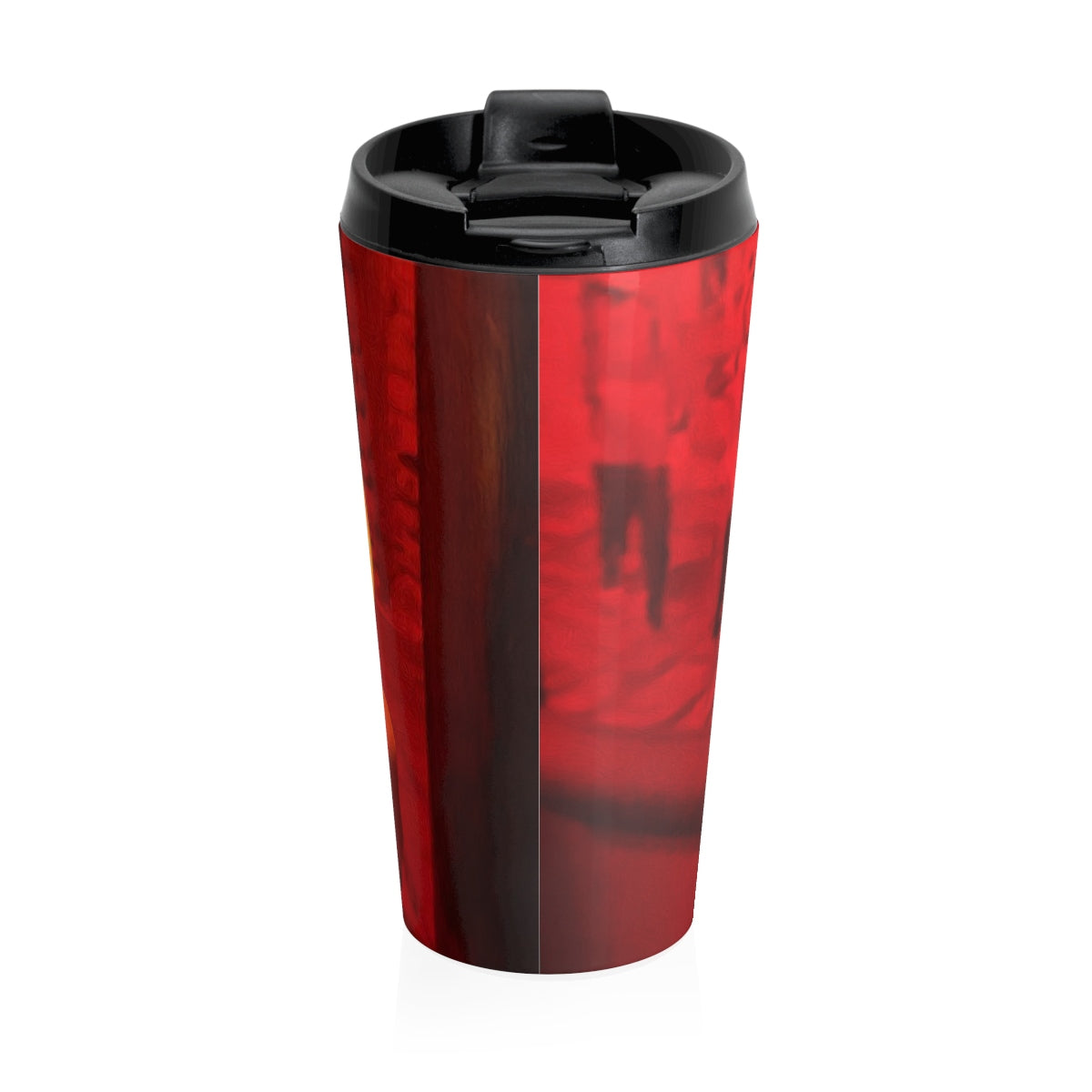 Christmas Candle Toy Soldiers Stainless Steel Travel Mug - expressive-flower-art-goods.myshopify.com