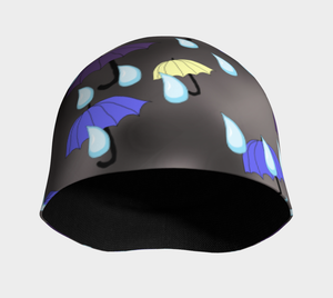 Rain and Umbrellas Hat