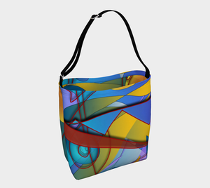 Geometry Collage Day Tote