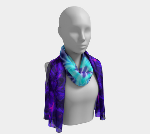 Bokeh Light Dragonfly Longscarf