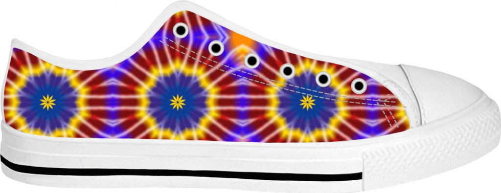 Rainbow Tie Dye Low Tops