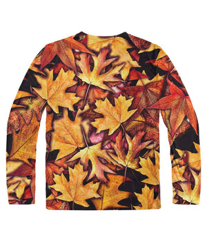 Fall Leaves Collage Longsleeve Sublimation Long Sleeve
