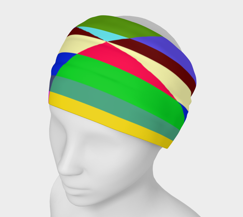 Stripes Interrupted Headband