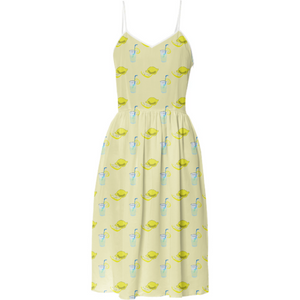 Lemonade Polkadots Summer Dress