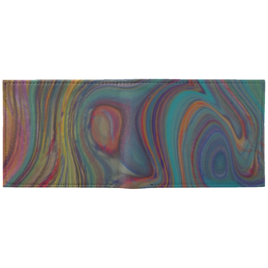 Colorful Sketch WA100 Wallet