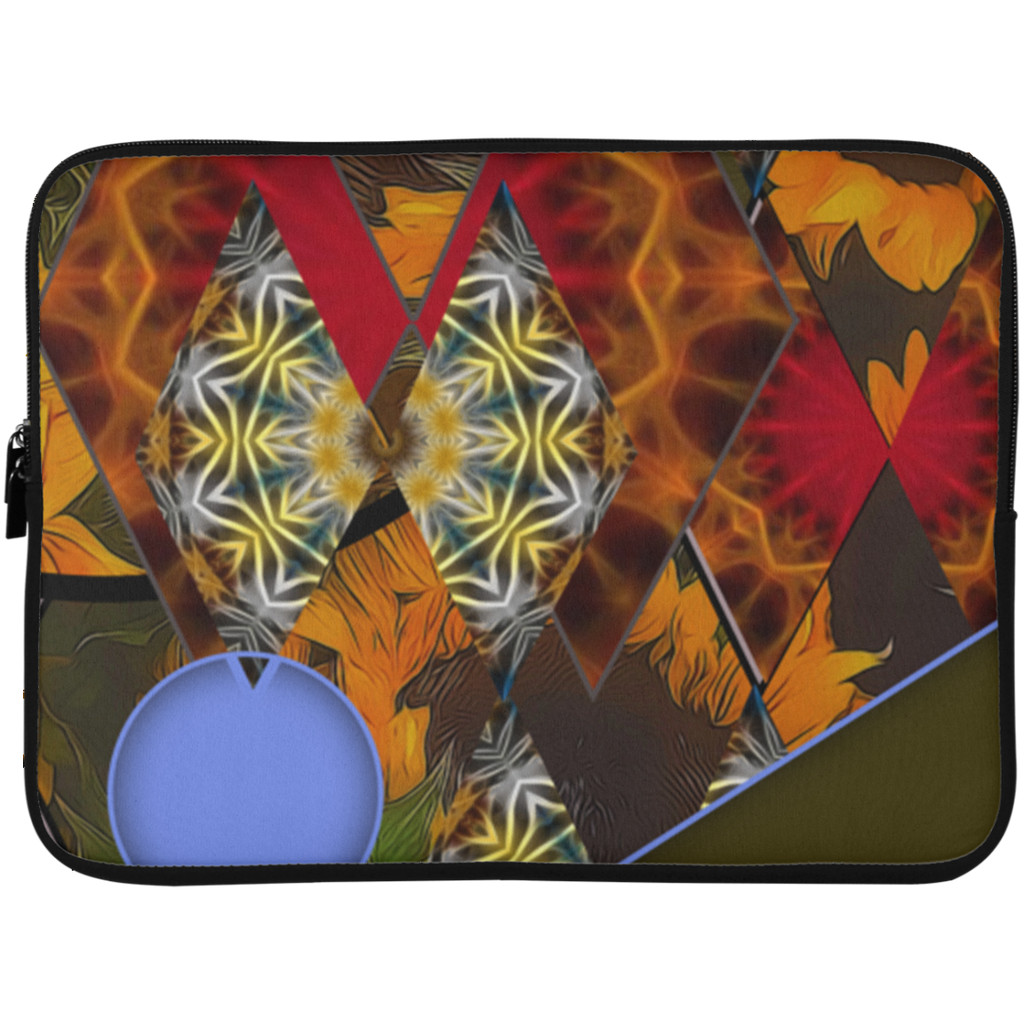 Sunflower Collage Laptop Sleeve - 15 Inch