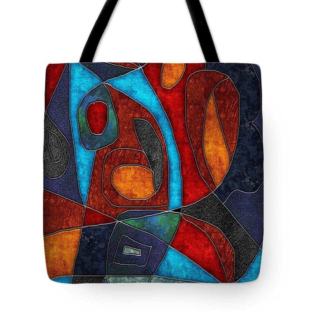 Abstract With Heart - Tote Bag - expressive-flower-art-goods.myshopify.com