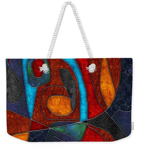 Abstract With Heart - Weekender Tote Bag