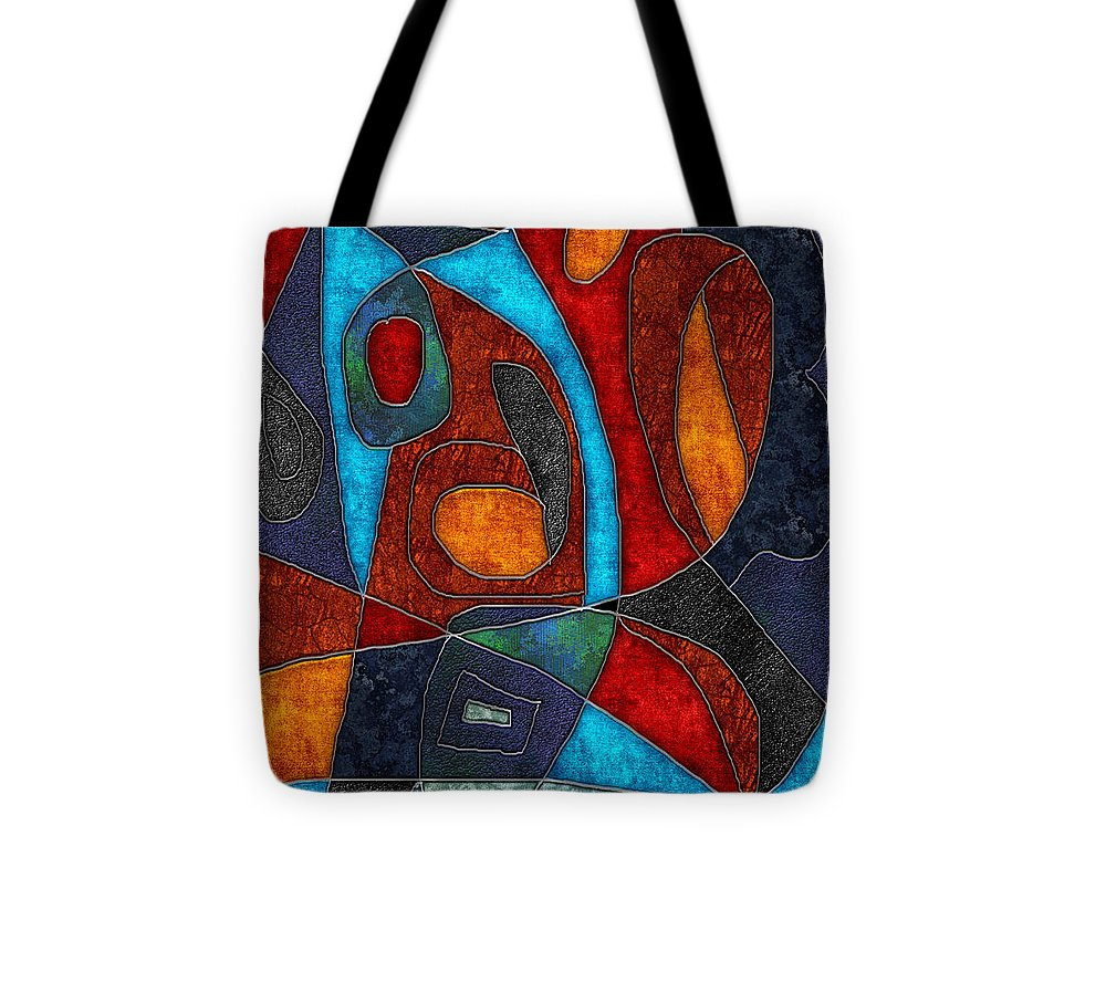 Abstract With Heart - Tote Bag