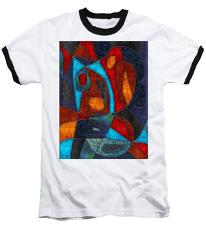 Abstract With Heart - Baseball T-Shirt