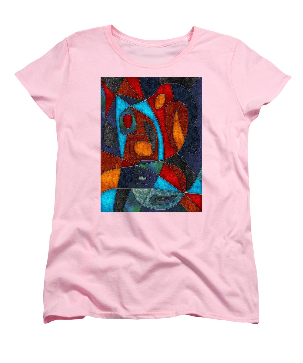 Abstract With Heart - Women's T-Shirt (Standard Fit)