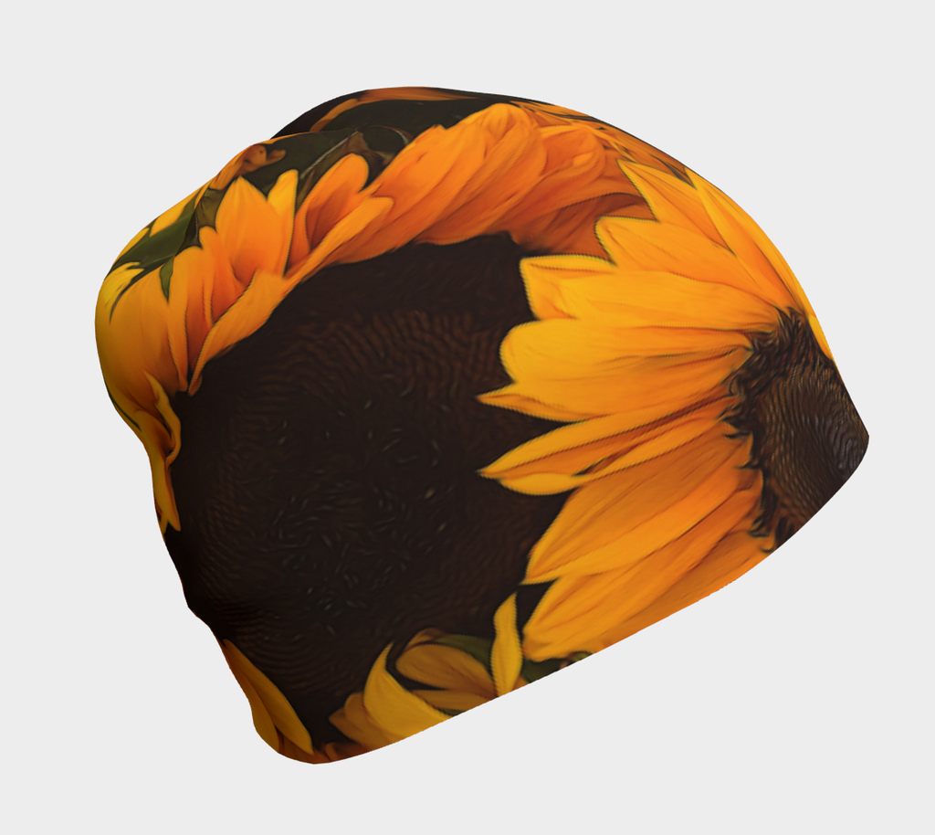 Sunflower Basket Hat