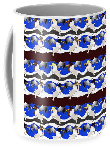 Angels Pattern - Mug - expressive-flower-art-goods.myshopify.com