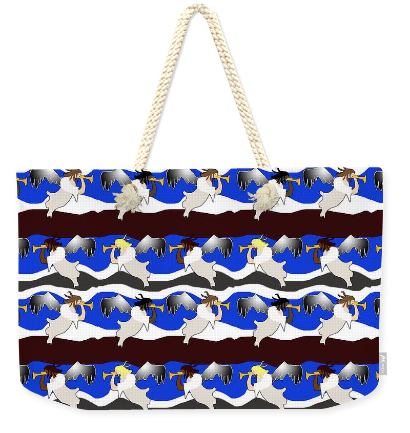 Angels Pattern - Weekender Tote Bag