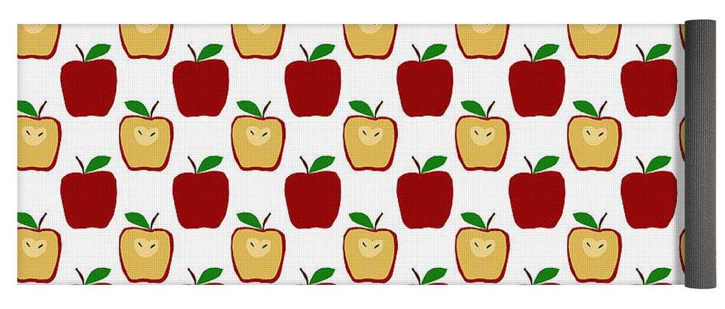 Apple Polkadots - Yoga Mat