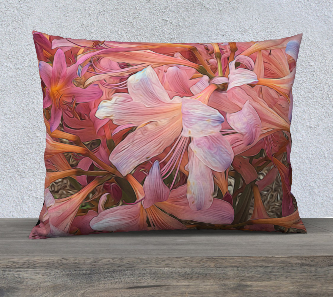 Amaryllis Belladonna Pillow Case