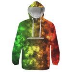 Red Green Bokeh Windbreaker - expressive-flower-art-goods.myshopify.com