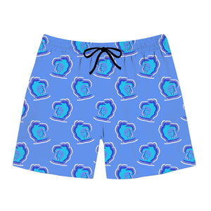 Surfer Pattern Swim Trunks