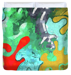 Blobs Collage - Duvet Cover