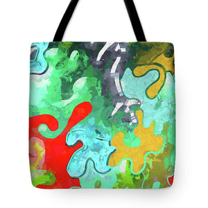 Blobs Collage - Tote Bag