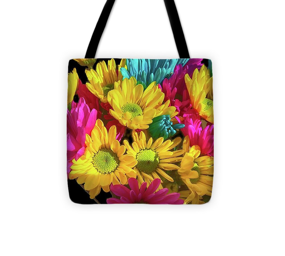 Bright Daisy Bouquet - Tote Bag
