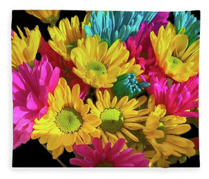 Bright Daisy Bouquet - Blanket
