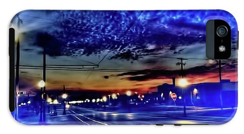 Bus Stop Sunrise - Phone Case
