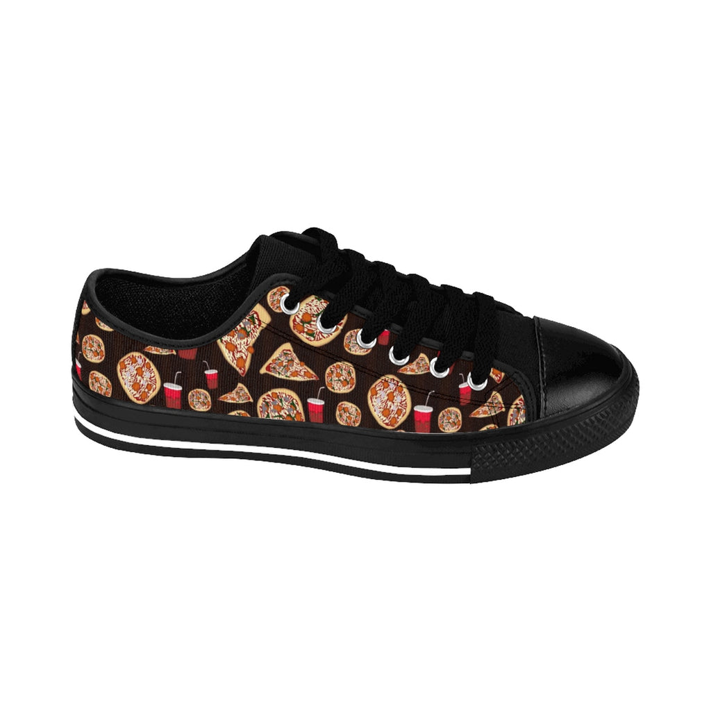 Pizza Pattern Men's Sneakers